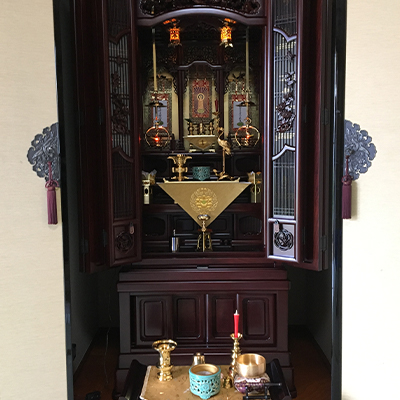 お仏壇の設置