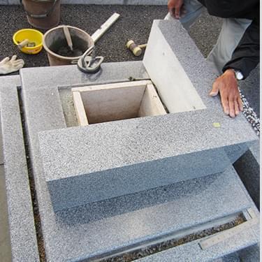 お仏壇購入・お墓施工の流れ